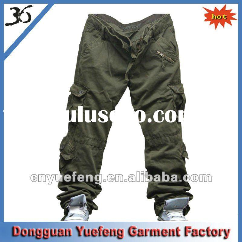 2012 fashion casual cargo trousers for Men/leisure pants
