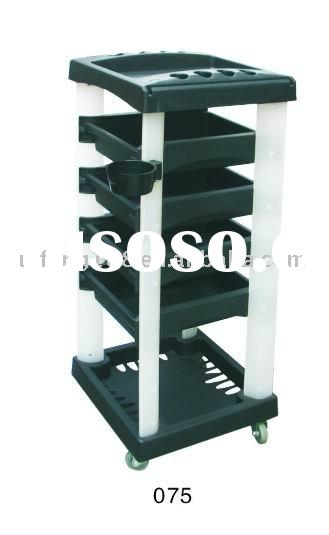 2012 hot sale new style beauty equipment tool cart salon trolley huifeng 075
