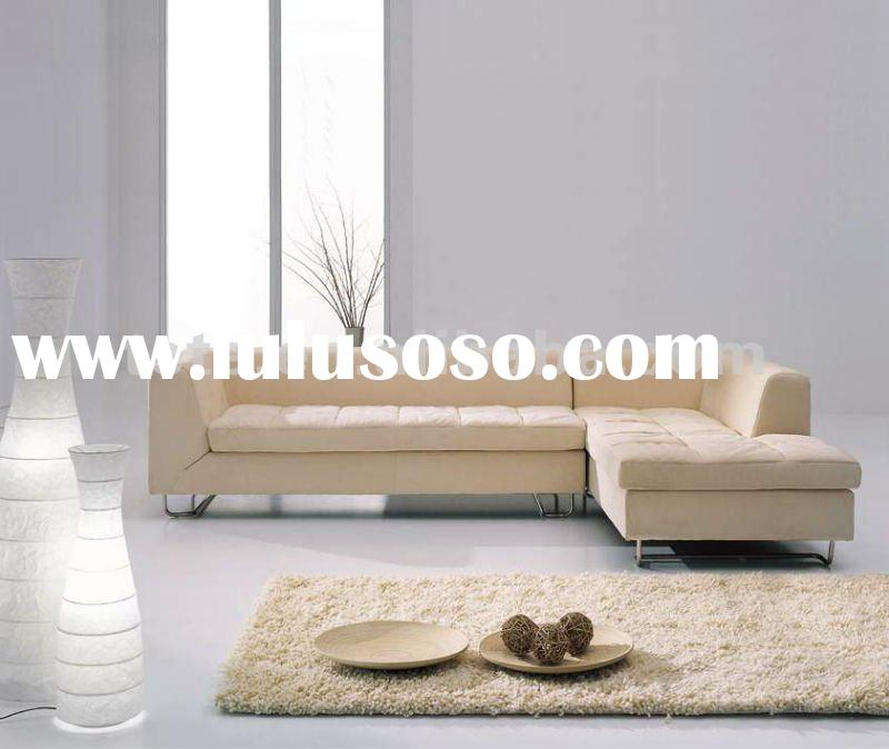 2012 modern genuine leather living room sofa