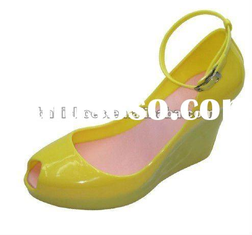 2012 new JELLY shoes melissa new arrival Jelly shoes ;2012 new JELLY wedge flatform women sandal