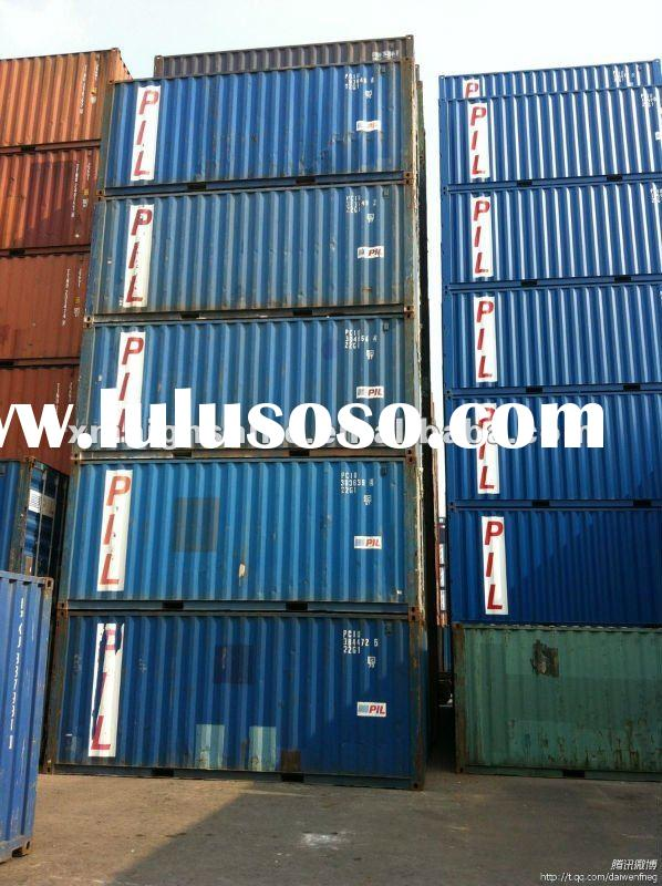 20GP used shipping container for sale