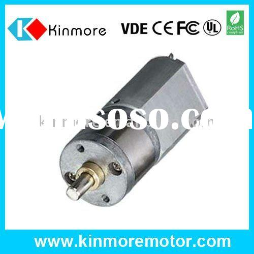 22:1 6V DC Gear Motor, Mini Gear Motor with Dia 20mm Gearbox and Dia 4mm Shaft