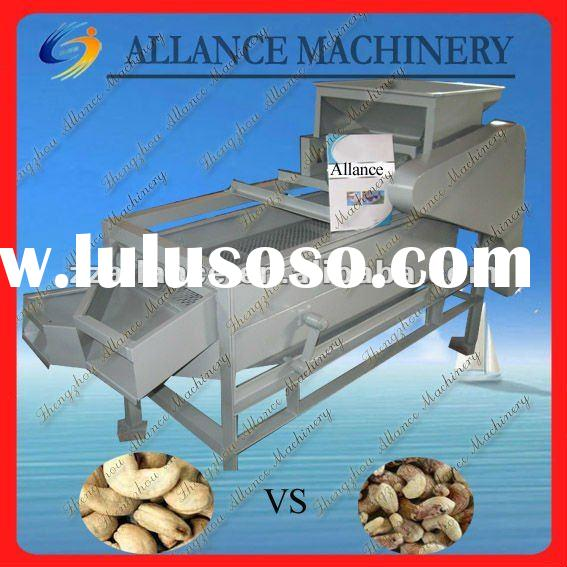 22 Processing Machine for separating broken shells of raw cashew nut from kernel