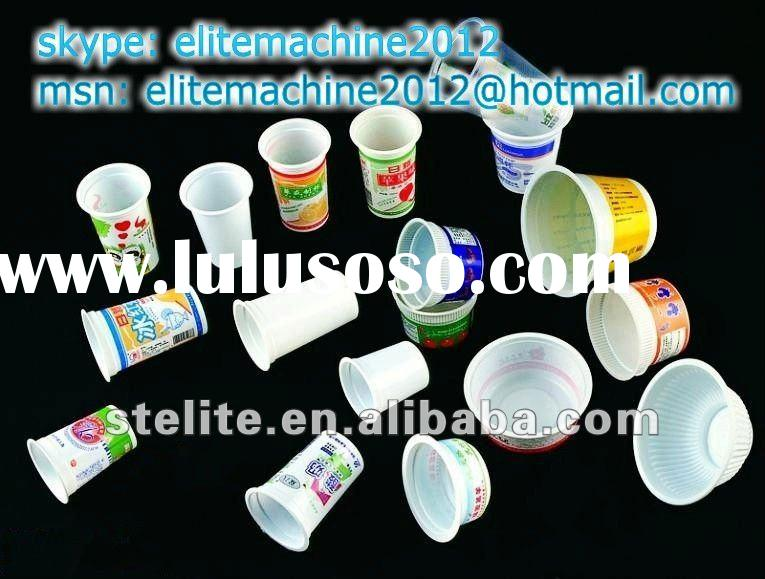 30-300ml cup filling sealing machine for yoghurt