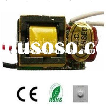 3W 350ma Constant current Triac dimmable led driver transformer,power supply