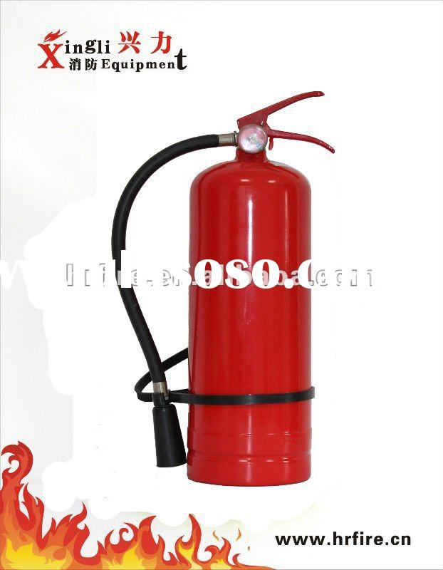 4.5kg ABC dry powder portable fire extinguisher