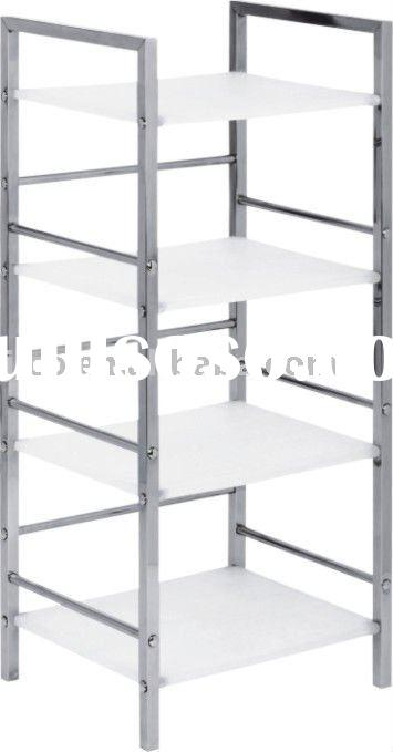 4 Layers Metal and Stainless Steel Kitchen Storage Rack