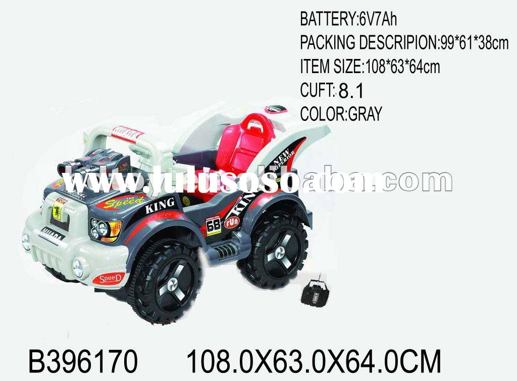 4ch rc children ride-on car toy (with MP3)