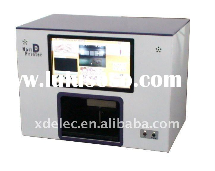 5 finger Nail one time,Gel nails kits printer machine,New Software In 2011,Free Shipping by Air expr