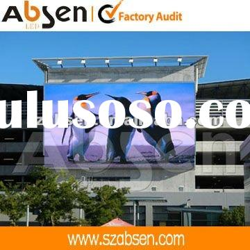 Absen outdoor LED display shine in Cape Town Internationa Airport