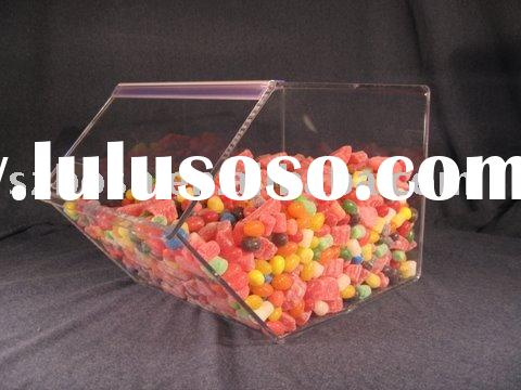 Acrylic Candy Box,Acrylic Sweetmeat Box,Acrylic Display Bin