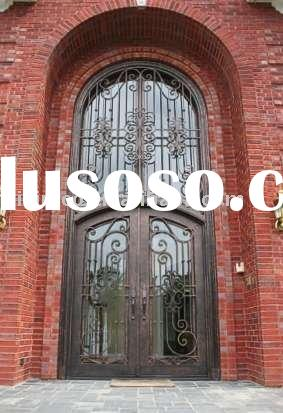 Antique style metal door,iron door,artistic metal door,villa door,interior and exterior door