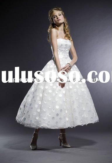 Ballgown tea length designer wedding dresses NSW3579