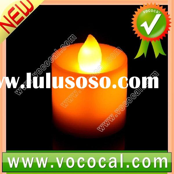 Battery Operated LED Yellow Light Candle For Party