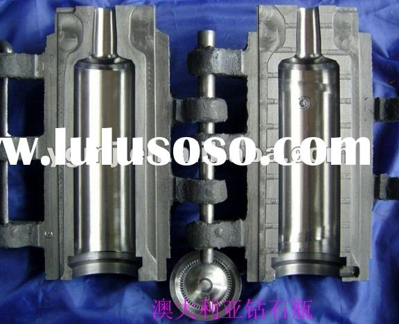 CNC machine 700ml Australia Diamond Glass Bottle Mould