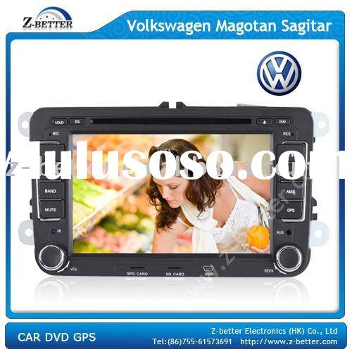 Car audio doulble din For VW Magotan/ Sagitar/ Golf 6 with GPS,Bluetooth,DVB-T,Rear Camera