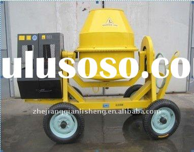 Cheap portable self-loading diesel/electric mini cement concrete Mixer QLS400M(400L) for sale