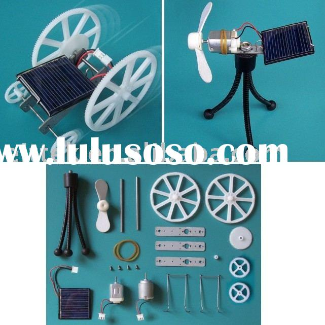 DIY Solar Car & Solar Fan Set,original design