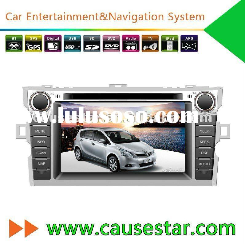 Double din 7 inch HD TFT Car DVD for Toyota EZ with GPS navigation system,car stereo