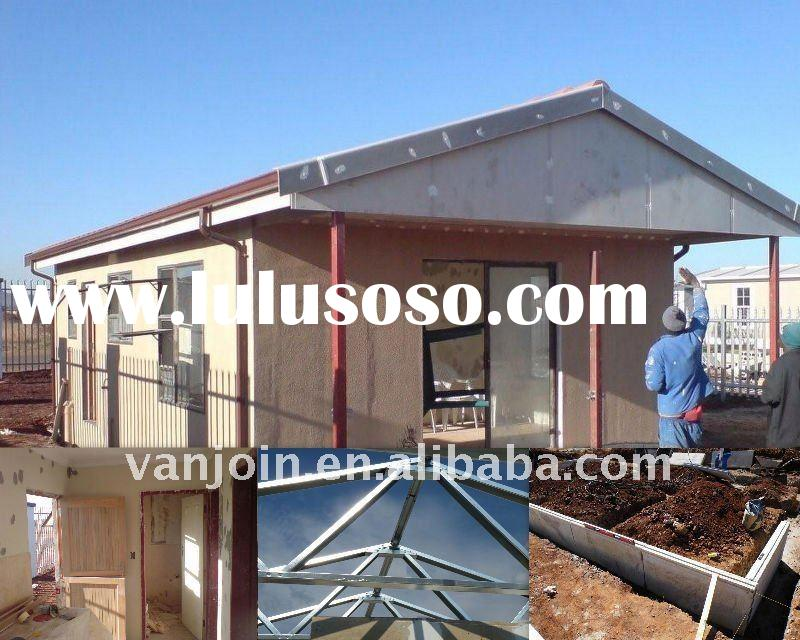Easy/fast Installation for Sandwich Panel House Shed