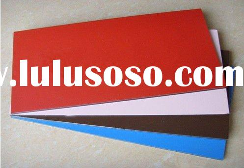 Embossed color coated aluminum sheet/plate