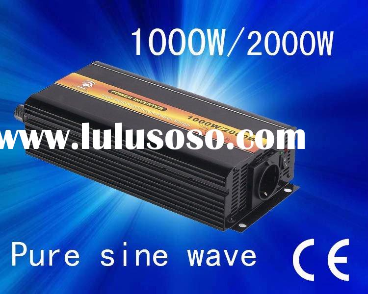 Factory sell dc inverter ,dc 12v to ac 100v ,1000w pure sine wave inverter,home inverter ,with japan