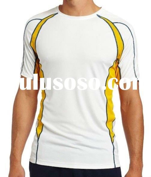 Fashion Design Men's Athletic Performance tops Shirts