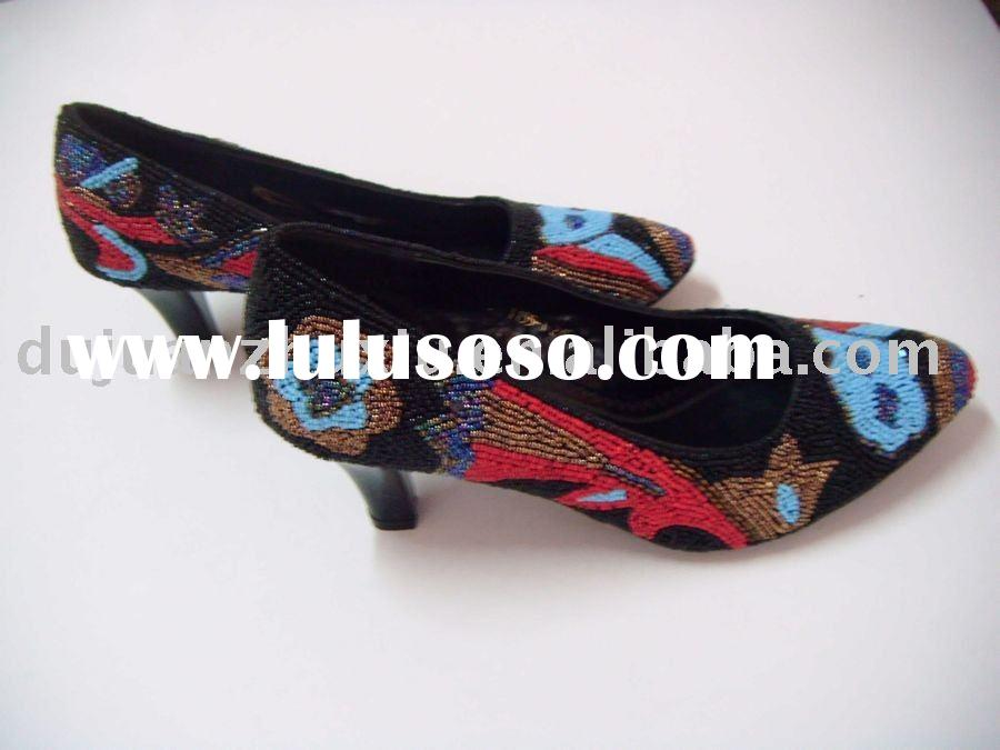 Fashion beaded high-heeled shoes (for ladies)