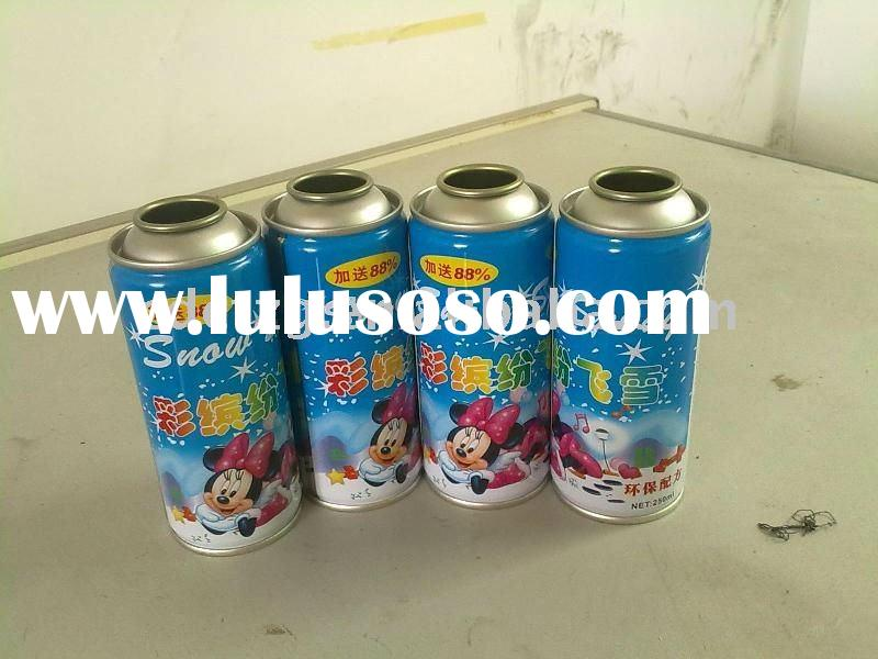Finished aerosol cans/tinplate aerosol can/empty aerosol can