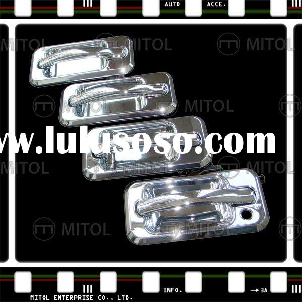 For GMC Hummer H2 Chrome Car Door Handle - Replacement