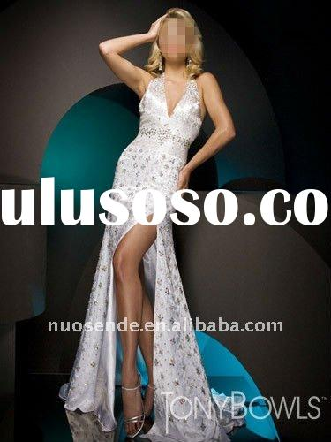 Free Shipping Happy Wholesale Korean Evening Dresses Cheap Haute Cotoure Long Strapless Evening Gown