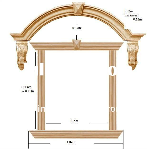 Gallery for window frame designs for Window frame designs house design