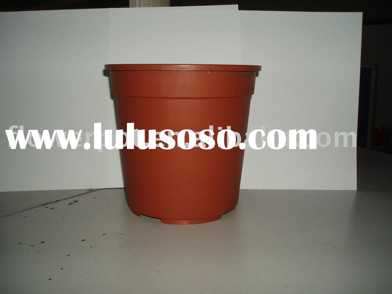 Greenhouse,flower pot,plastic flower pot,Terra buffing beads cotta flower pot,plastic flowerpot,nurs