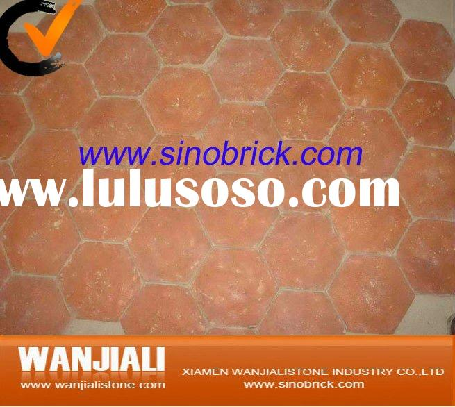 Hexagon Clay Tiles