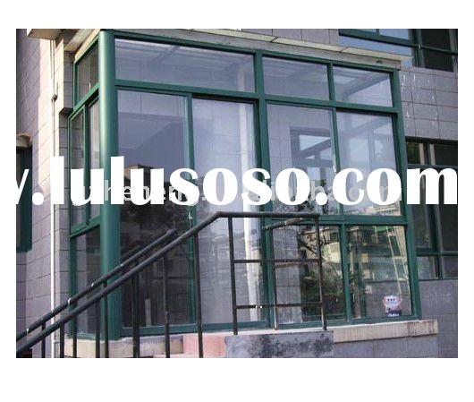 High quality double glazed aluminum window frames