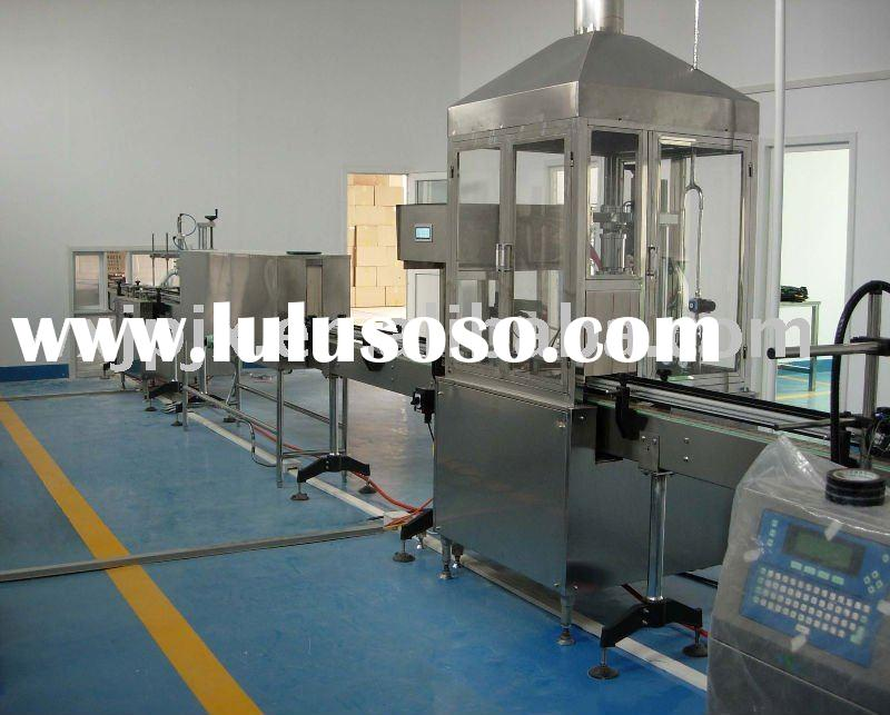 KP-II -Automatic aerosol filling line, filling machine for spray
