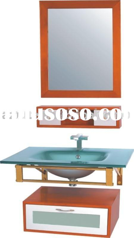 LUCKY 80 bathroom furniture glass basin