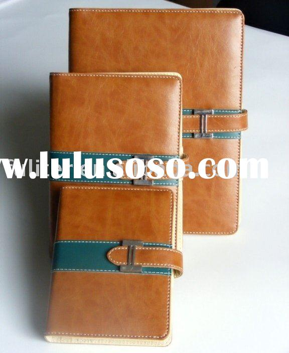 Leather cover Diary book