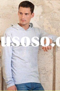 Long Sleeve Hooded T Shirt