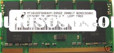MICRON 512MB DDR PC2700 LAPTOP MEMORY RAM 333MHz