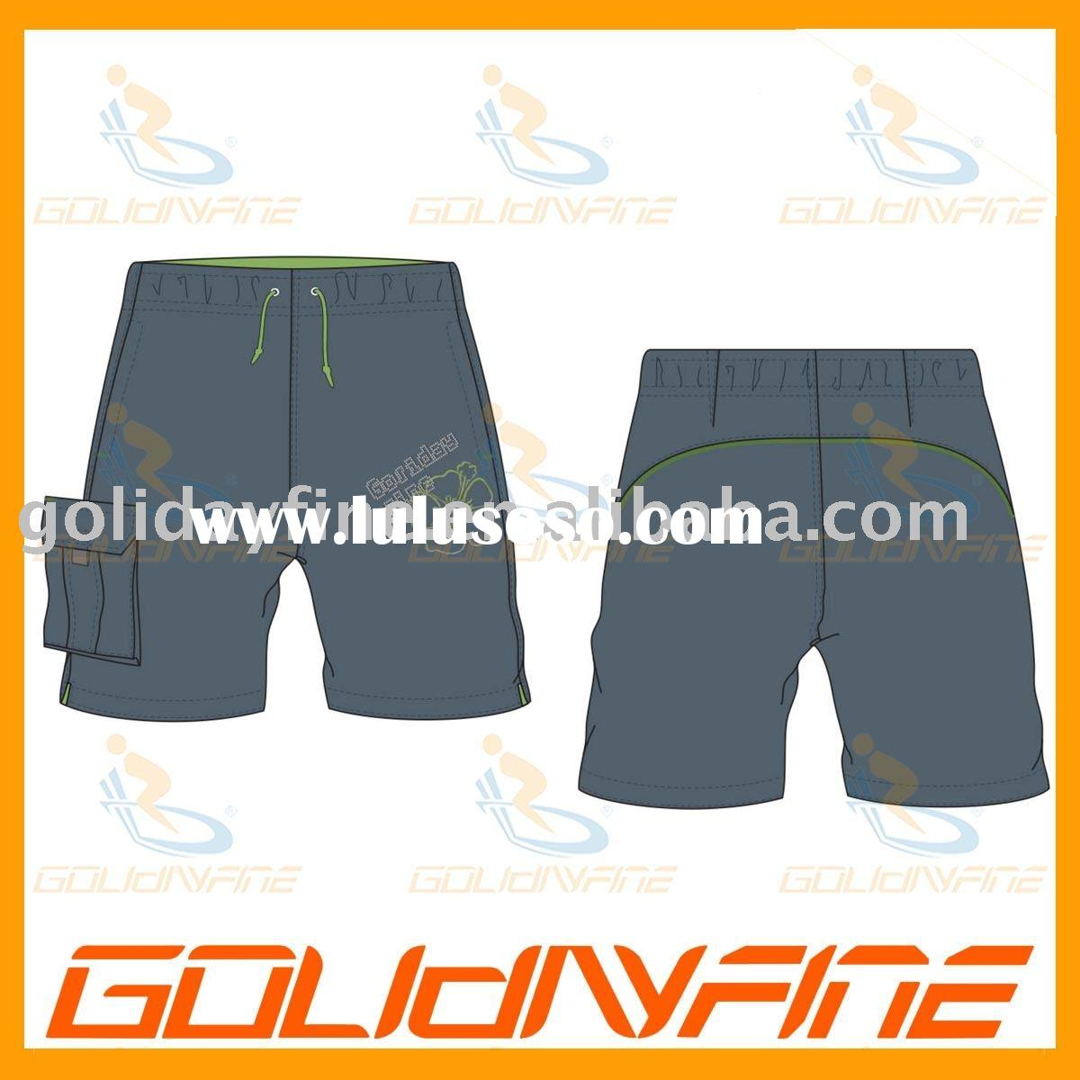 Mens Board Shorts with Elastic Waist