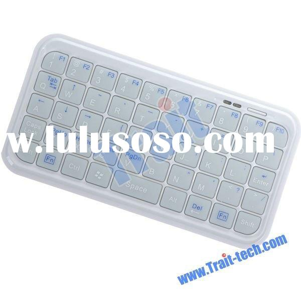 Mini Bluetooth 2.0 Keyboard for iPad/iPhone/PS3/Smart Phone/HTC/HTPC-White