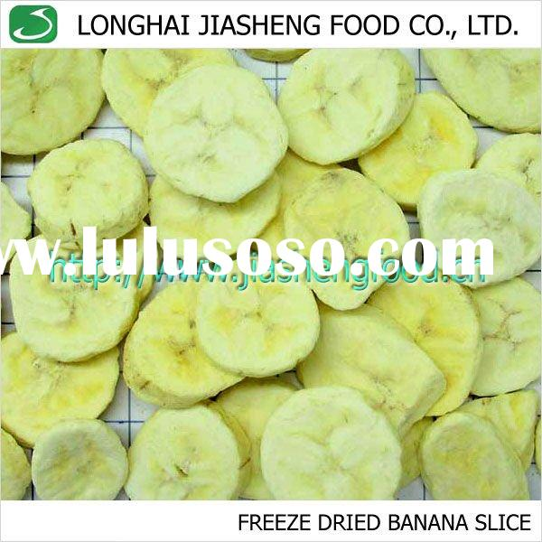Natural Healthy Tropical Fruit Freeze Dried Banana Slice