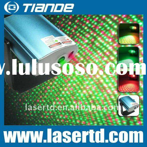 New Developped Green and Red mini laser stage lightings projector for Christmas TD-GS-01