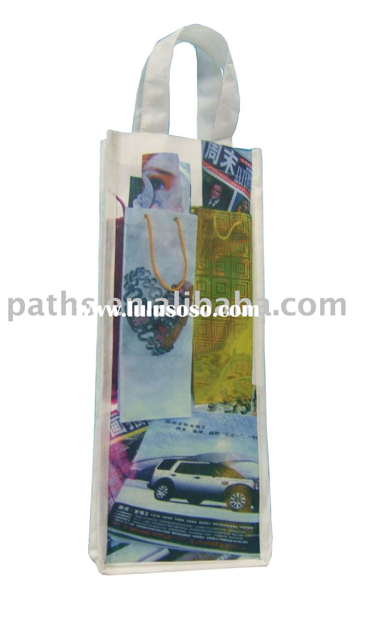 Newspaper bag non woven bag sublimatio non woven bag