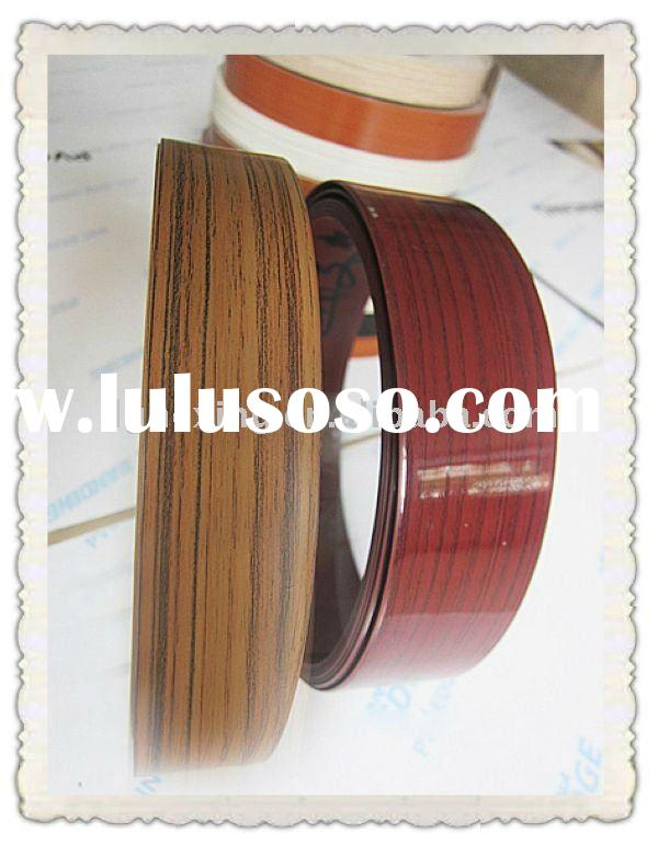 PVC/ABS table edge banding, edge protector, edge guard for furniture qualified by ISO9001---HXS018