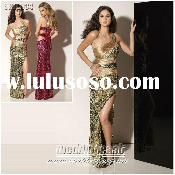 Sequin Dinner Party Dress SPTED34