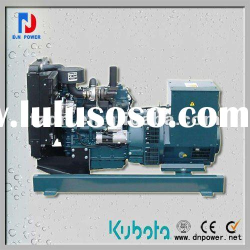 Small volume JAPAN Kubota diesel generator set
