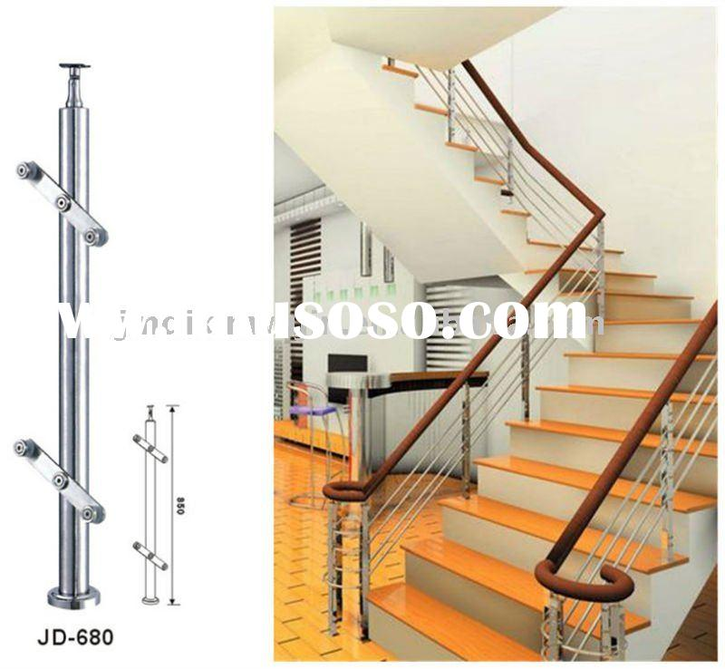 Stainless steel handrail/ New design staircase (JD-680)