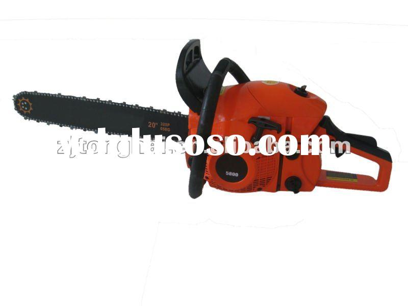 Supply Gasoline ChainSaw 58CC 2.6kw Provide professional OEM/ODM service